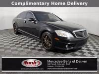 Pre-Owned 2007 Mercedes-Benz S-Class Base Sedan in Denver