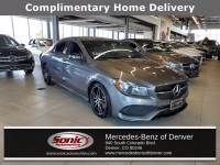 Certified Pre-Owned 2018 Mercedes-Benz CLA 250 4MATIC Coupe in Denver