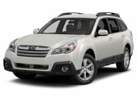 Satin White Pearl Used 2014 Subaru Outback 4dr Wgn H4 Auto 2.5i Premium For Sale in Moline IL | S21791B