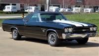 1970 Chevrolet El Camino SS Restored Real SS Big Block 396 Automatic