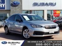Used 2020 Subaru Impreza - S200814A | Subaru of El Cajon