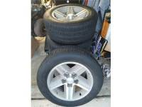 IROC Z rims and tires