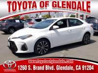 Used 2018 Toyota Corolla for Sale at Dealer Near Me Los Angeles Burbank Glendale CA Toyota of Glendale | VIN: 5YFBURHE0JP747607