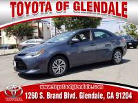 Used 2018 Toyota Corolla for Sale at Dealer Near Me Los Angeles Burbank Glendale CA Toyota of Glendale | VIN: 5YFBURHE2JP843416