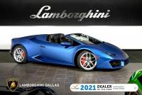Used 2019 Lamborghini Huracan LP580-2 Spyder For Sale Richardson,TX | Stock# L1348 VIN: ZHWUR2ZF8KLA12855