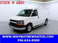 2019 Chevrolet Express 2500 ~ Ladder Rack & Shelves ~ Only 18K Miles!