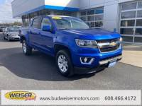 Certified Pre-Owned 2018 Chevrolet Colorado Crew Cab Short Box 4-Wheel Drive LT