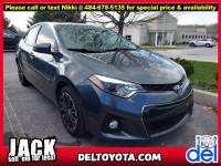 Used 2015 Toyota Corolla S Plus For Sale in Thorndale, PA | Near West Chester, Malvern, Coatesville, & Downingtown, PA | VIN: 2T1BURHE1FC351161