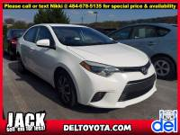 Used 2016 Toyota Corolla LE For Sale in Thorndale, PA | Near West Chester, Malvern, Coatesville, & Downingtown, PA | VIN: 2T1BURHEXGC559931