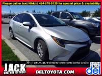 Certified Pre-Owned 2020 Toyota Corolla For Sale in Thorndale, PA | Near Malvern, Coatesville, West Chester & Downingtown, PA | VIN:5YFEPRAE4LP132673