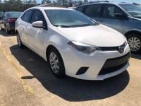 Used 2014 Toyota Corolla Sedan