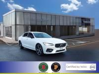 Certified Used 2020 Volvo S90 T6 R-Design in Crystal White For Sale in Somerville NJ | SB5233