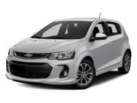 Used 2017 Chevrolet Sonic LT Hatchback