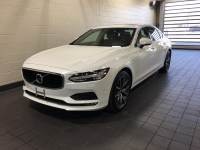 Crystal White Pearl Metallic Used 2018 Volvo S90 T5 AWD Momentum For Sale in Moline IL | PV21112