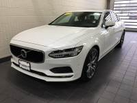 Crystal White Pearl Metallic Used 2018 Volvo S90 T5 AWD Momentum For Sale in Moline IL | PV21115