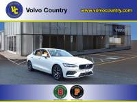 Certified Used 2020 Volvo S60 T6 Momentum in Crystal White Pearl For Sale in Somerville NJ | SB5239