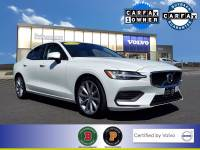 Certified Used 2020 Volvo S60 T6 Momentum in Crystal White Pearl Metallic For Sale in Somerville NJ | SP0336