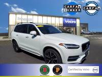 Certified Used 2018 Volvo XC90 T6 AWD Momentum (7 Passenger) in Ice White For Sale in Somerville NJ | SP0340