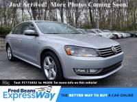 Used 2015 Volkswagen Passat For Sale at Fred Beans Volkswagen of Devon | VIN: 1VWAT7A33FC115452
