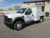 Used 2008 Ford Super Duty F-450 4x2 Flat-Bed