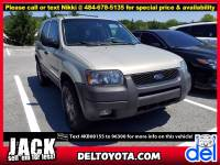 Used 2004 Ford Escape XLT For Sale in Thorndale, PA   Near West Chester, Malvern, Coatesville, & Downingtown, PA   VIN: 1FMCU93184KB08155