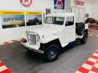 1960 JEEP Willys - OVERLAND - NICE RESTORATION - SEE VIDEO -