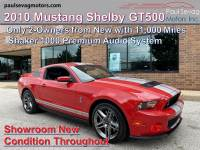Used 2010 Ford Shelby GT500 Coupe For Sale at Paul Sevag Motors, Inc. | VIN: 1ZVBP8JS5A5119814