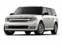 White Platinum Metallic Tri-Coat Used 2018 Ford Flex SEL AWD For Sale in Moline IL   P21209