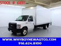 2019 Ford E450 ~ 16ft. Box Van ~ Liftgate ~ Only 58K Miles!
