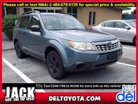 Used 2012 Subaru Forester 2.5X For Sale in Thorndale, PA | Near West Chester, Malvern, Coatesville, & Downingtown, PA | VIN: JF2SHABC9CG401798