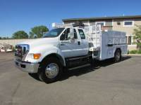 Used 2011 Ford Ex-Cab Service Utility Truck