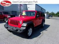Certified Used 2018 Jeep Wrangler Unlimited Sport in Gaithersburg