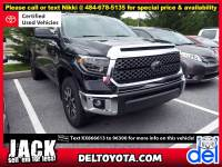 Certified Pre-Owned 2019 Toyota Tundra For Sale in Thorndale, PA   Near Malvern, Coatesville, West Chester & Downingtown, PA   VIN:5TFDY5F18KX866613