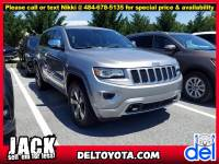 Used 2015 Jeep Grand Cherokee Overland For Sale in Thorndale, PA   Near West Chester, Malvern, Coatesville, & Downingtown, PA   VIN: 1C4RJFCG7FC739437