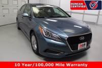 Used 2016 Hyundai Sonata Hybrid For Sale at Duncan Hyundai | VIN: KMHE24L1XGA033678