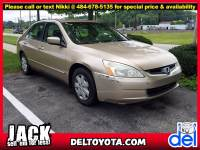 Used 2003 Honda Accord Sdn LX For Sale in Thorndale, PA   Near West Chester, Malvern, Coatesville, & Downingtown, PA   VIN: 1HGCM56353A128265