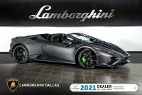 Used 2020 Lamborghini Huracan EVO-2 Spyder For Sale Richardson,TX | Stock# LT1475 VIN: ZHWUT5ZF0LLA15219