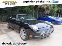 2003 Ford Thunderbird Jacksonville, FL at Duval Acura   Stock #P3Y105116