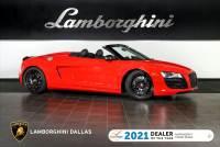 Used 2011 Audi R8 Spyder For Sale Richardson,TX   Stock# LT1467 VIN: WUATNAFG9BN000225