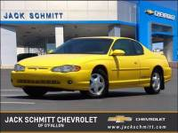 Pre-Owned 2003 Chevrolet Monte Carlo SS VIN 2G1WX12K639202841 Stock Number 14139P