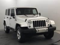 Used 2015 Jeep Wrangler Unlimited Sahara SUV