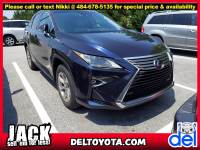 Used 2018 LEXUS RX RX 450h For Sale in Thorndale, PA   Near West Chester, Malvern, Coatesville, & Downingtown, PA   VIN: 2T2BGMCA2JC027848