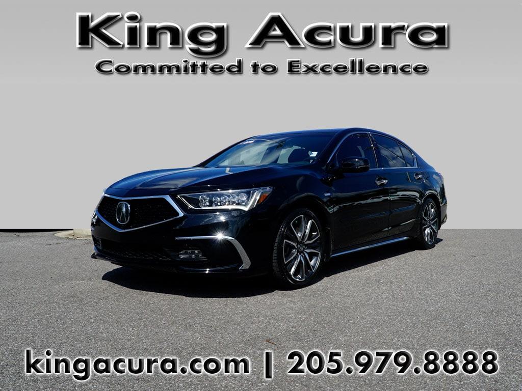 Photo Certified Pre-Owned 2018 Acura RLX Sedan Sport Hybrid wAdvance Pkg for Sale in Hoover near Homewood, AL