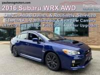 Used 2016 Subaru WRX AWD For Sale at Paul Sevag Motors, Inc. | VIN: JF1VA1B65G9818457