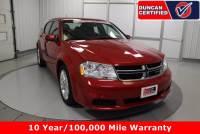 Used 2012 Dodge Avenger For Sale at Duncan Hyundai   VIN: 1C3CDZCB3CN183361