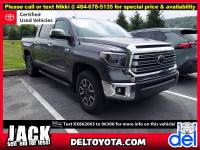 Certified Pre-Owned 2019 Toyota Tundra For Sale in Thorndale, PA   Near Malvern, Coatesville, West Chester & Downingtown, PA   VIN:5TFHY5F1XKX862063