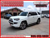 2020 Toyota 4Runner Limited - Toyota dealer in Amarillo TX – Used Toyota dealership serving Dumas Lubbock Plainview Pampa TX