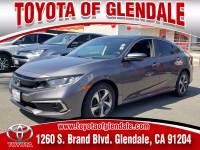 Used 2019 Honda Civic for Sale at Dealer Near Me Los Angeles Burbank Glendale CA Toyota of Glendale   VIN: 2HGFC2F63KH507385