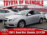 Used 2013 Chevrolet Cruze for Sale at Dealer Near Me Los Angeles Burbank Glendale CA Toyota of Glendale | VIN: 1G1PC5SB6D7313819