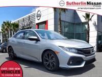 Used 2018 Honda Civic Hatchback Sport